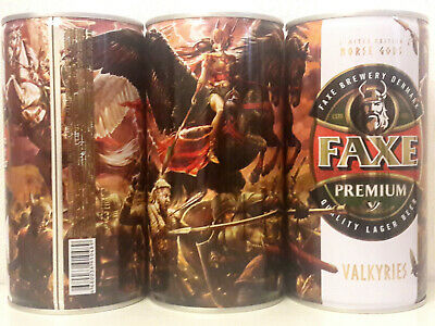 $ CDN21.15 • Buy Faxe Limited  Norse Gods - Valkyries, Empty Can Beer,0.9L