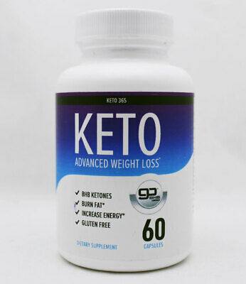 $6.96 • Buy Keto 365: KETO Advanced Weight Loss 60 Capsules - 1 Month Supply