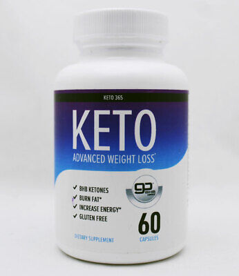 $6.94 • Buy Keto 365: KETO Advanced Weight Loss 60 Capsules - 1 Month Supply