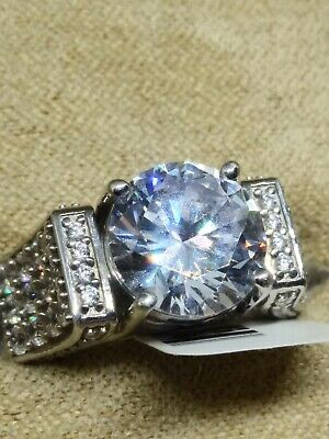 $50 • Buy Charles Winston For Bella Luce CZ SS Ring 8.76ctw (4.80ctw DEW)