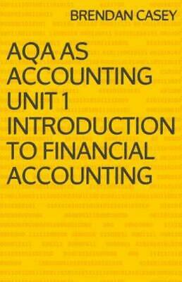 £6.42 • Buy Aqa As Accounting Unit 1 Introduction To Financial Accounting