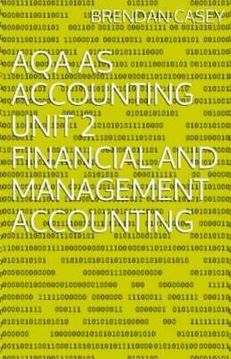 £7.39 • Buy Aqa As Accounting Unit 2 Financial And Management Accounting