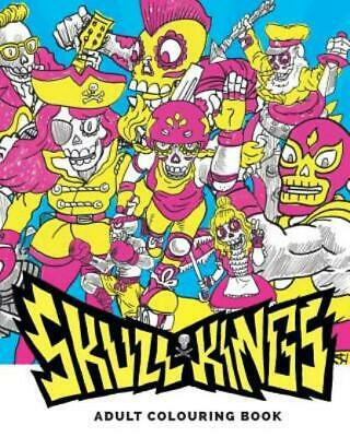 $9.60 • Buy Skull Kings : Adult Colouring Book By Rhys Prosser (2016, Paperback)