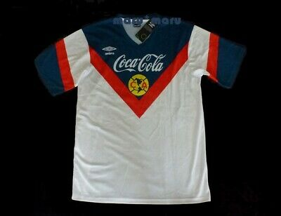 $39.95 • Buy CLUB AMERICA 1993-94 ZAGUE #17 Jersey Large RETRO Away TRUE SIZE Mexico White