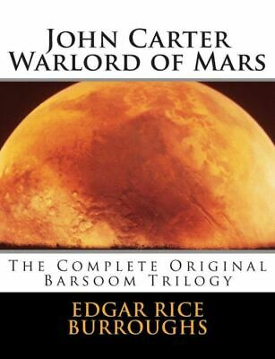 $19.26 • Buy John Carter Warlord Of Mars By Summit Classic Press Editors And Edgar Rice...