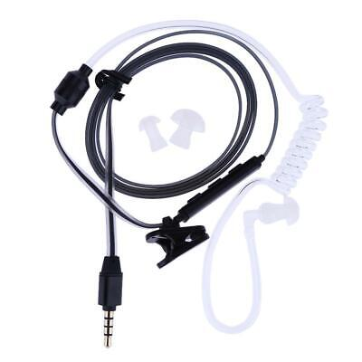 Air Tube 3.5mm Anti-Radiation Earphone Headphone Perfume Noodle Headset L&6 • 3.97£