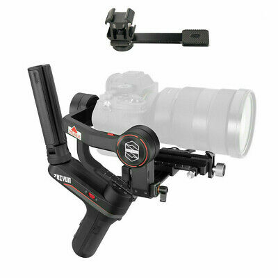 AU490.99 • Buy AU Zhiyun Weebill S 3-Axis Handheld Gimbal Stabilizer For DSLR + Mounts Plate