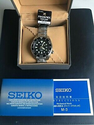 $ CDN1500 • Buy Seiko Sumo Prospex Automatic Dive Watch With Black Dial Stainless Steel Bracelet