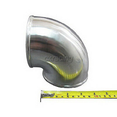 AU65.13 • Buy 4  Cast Aluminum Elbow 90 Degree Pipe Polished For Turbo Elbow Intercooler