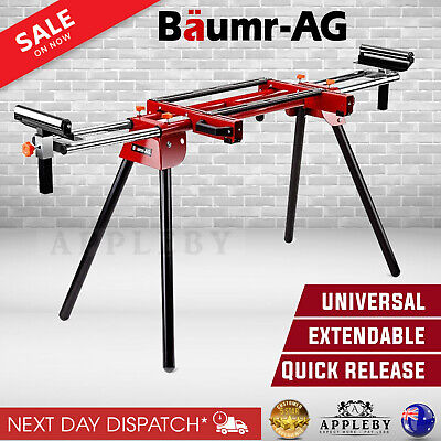 AU148.06 • Buy Mitre Saw Stand Bench Horse Universal Adjustable Portable Drop Saw Table