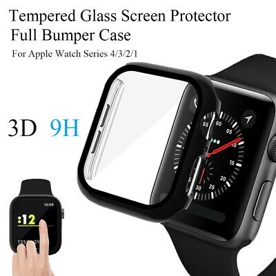 $ CDN3.43 • Buy Screen Protector Watch Frame Protective Case For Apple Watch Series 4/3/2/1