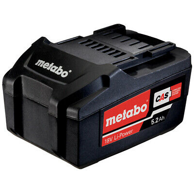 £64.99 • Buy Metabo 18V 5.2Ah Lithium-Ion Battery Ultra-M Technology 625592000