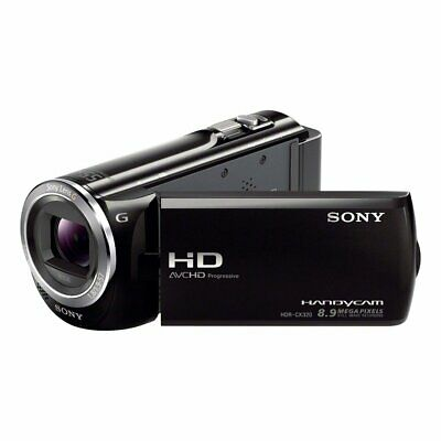Sony HandyCam Digital HD Video Camera Recorder HDR-CX320 Black • 99.99£