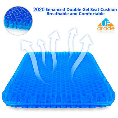 AU44.99 • Buy Gel Chair Seat Cushion For Lower Back Pain Pressure Relief Wheelchair Car Office