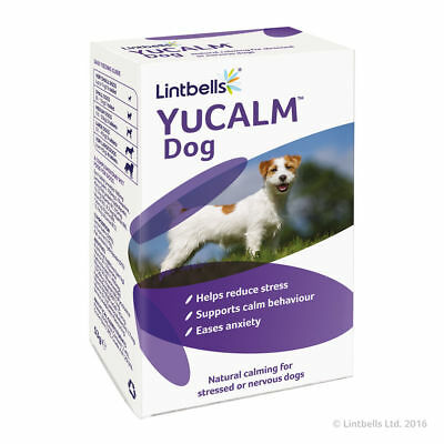 £39.99 • Buy Lintbells YuCalm Yucalm Calming Stress Tablets Dog Fireworks Anxiety 120 Tablets
