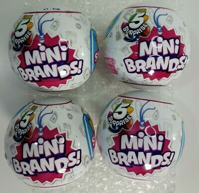 $ CDN67.12 • Buy Zuru 5 Surprise Mini Brands - 4 Balls - In Hand - New In Package - Free Shipping
