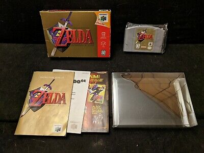 $79.99 • Buy The Legend Of Zelda: Ocarina Of Time - N64 - Cib With Case - Free Us Ship!