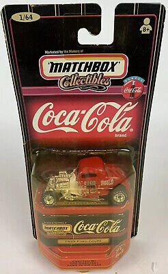 AU21.47 • Buy Matchbox Coca-Cola Collectibles Die Cast 1933 Ford Coupe Red Brand New
