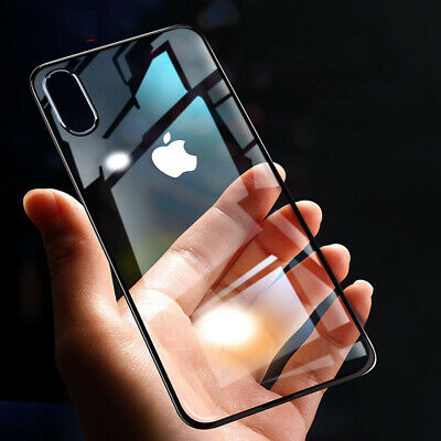 AU9.99 • Buy IPhone SE 2 2020 11/Pro/Max Xs/X XR Clear Bumper Case Silicone Shockproof Cover
