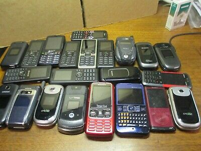$ CDN35.26 • Buy Lot Of 22 Kyocera Jax Samsung And Others Cellphone Most All Working