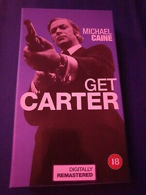 Michael Caine - Get Carter - VHS Video • 2.50£