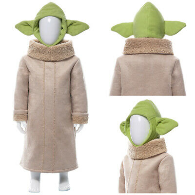$35 • Buy The Mandalorian Yoda Baby Cosplay Costume Halloween Outfit Suit