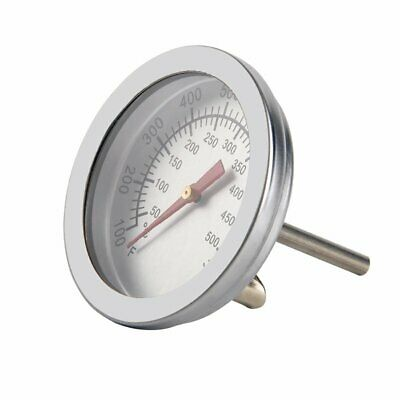 50-500℃ Barbecue BBQ Smoker Grill Thermometer Oven Temperature Gauge • 5.99£