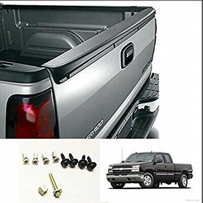 $60 • Buy For 99-07 Chevy Silverado GMC Sierra SL Tailgate Top Cover Protector Spoiler