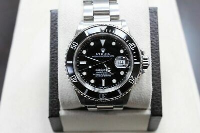 $ CDN10040.19 • Buy Vintage Rolex Submariner 16800 Stainless Steel Original Black Dial