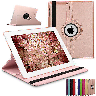 £4.89 • Buy For Apple IPad 10.2  2019/20 (7th,8th Gen) 360 Rotating Leather Smart Case Cover