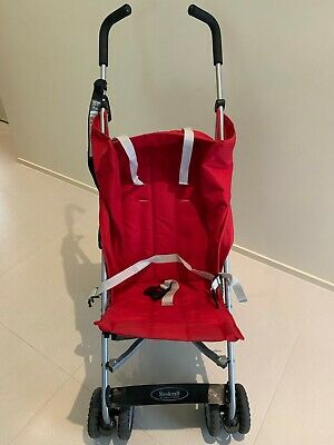 AU40 • Buy Steelcraft 'holiday' Layback Stroller Red