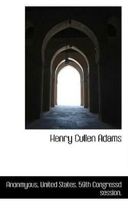 AU20.25 • Buy Henry Cullen Adams