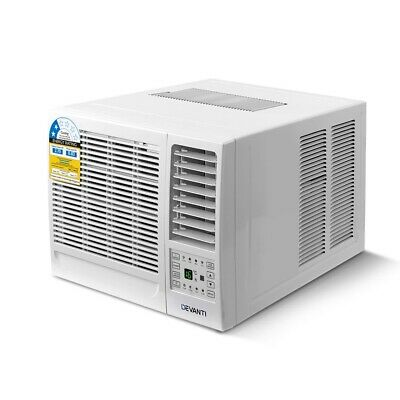 AU518.10 • Buy Devanti Window Air Conditioner W/o Reverse Cycle Wall 2.7 KW Cooling Only Cooler