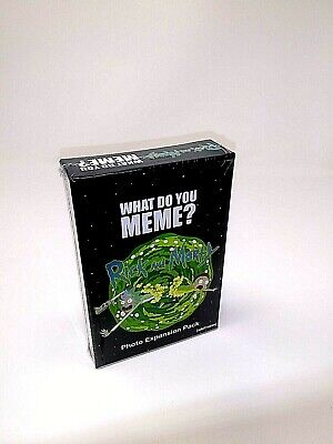 AU17.56 • Buy WHAT DO YOU MEME? Rick And Morty Expansion Pack New Sealed Card Game