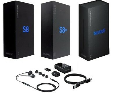 $ CDN20.75 • Buy Samsung-Galaxy-S8-S8-Plus-Note-8--Box-with-All-OEM-Accessories-Included