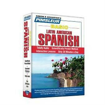 £13.78 • Buy Pimsleur Spanish Basic Course - Level 1 Lessons 1-10 Cd: Learn To Speak And...