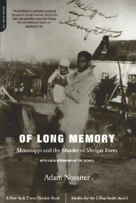 £12.79 • Buy Of Long Memory: Mississippi And The Murder Of Medgar Evers
