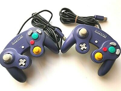 $70 • Buy Lot 2 Nintendo Switch Game Cube Controller Pad  Indigo Purple From Japan Import