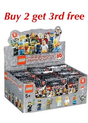 £6.99 • Buy LEGO MINIFIGURES SERIES 9 71000 RARE RETIRED(choose Your Figure)