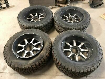 $788.49 • Buy 96 Ford F350 USED Set Of 4 AFTERMARKET 20x10 Wheels Rims W Tires (SEE PHOTOS)
