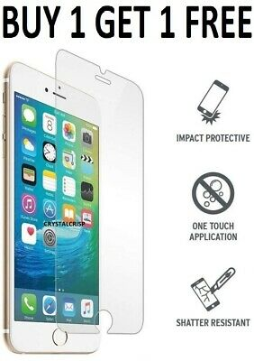 Screen Protector For Apple IPhone 8 - Tempered Glass 100% Genuine • 2.49£