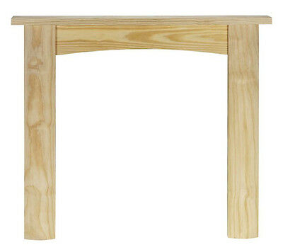 £65 • Buy Wooden Fire Surround Solid Pine