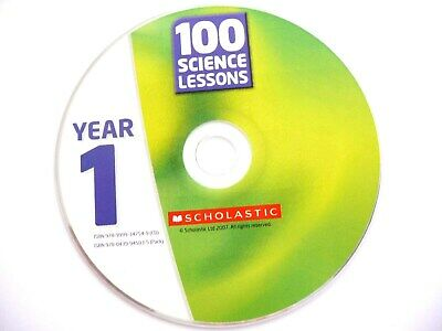 100 Science Lessons For Year 1 CD-Rom, Wilson, G, Creary, C  **Disc Only** • 2.99£