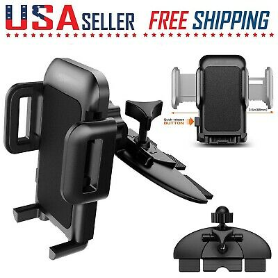 $6.99 • Buy Car Cell Phone CD Slot Mount Holder Stand Bracket 360 Rotation Universal GPS