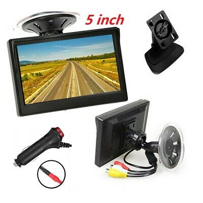 AU28.36 • Buy 5 Inch 800*480 TFT LCD HD Screen Monitor For Car Rear View Reverse Backup Camera