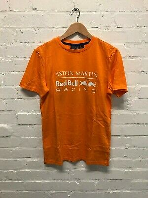 Aston Martin Red Bull Men's F1 Verstappen T-Shirt - Orange - New • 14.99£