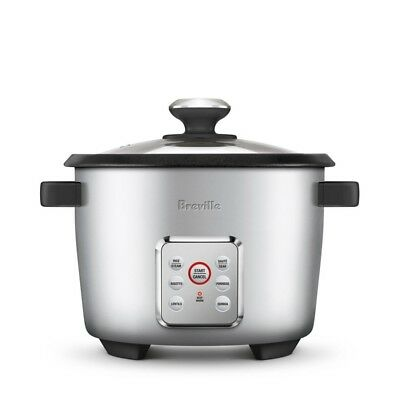 AU97 • Buy Breville BRC550SIL The Multi Grain™ Slow Cooker With Steaming Tray - RRP $109.95