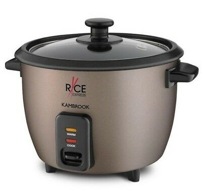 AU79 • Buy Kambrook KRC80CHO Rice Express 8 Cup Capacity Rice Cooker With Steaming Rack