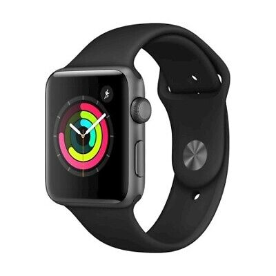 $ CDN315.49 • Buy NEW Apple Watch Series 3 Space Gray/Black 42mm Sport Band A1859 - Free Shipping