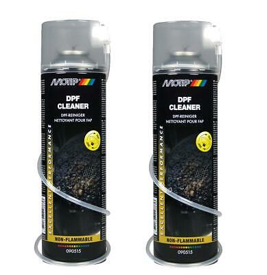 2x Motip Dpf Cleaner Diesel Particulate Filter Removes Carbon Ash Etc • 12.99£